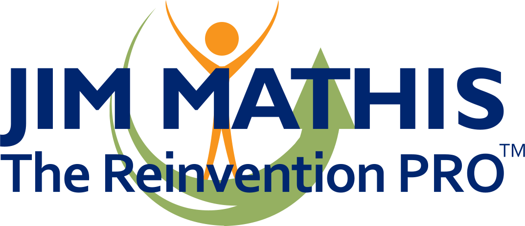 Jim Mathis, The Reinvention PRO's Logo